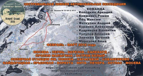 Притяжение Арктики - Ямальское кольцо 2016